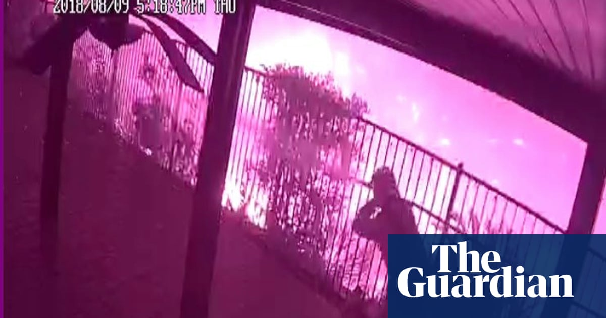 Californians Watch Wildfires Burn their Houses Via Home Security Cameras