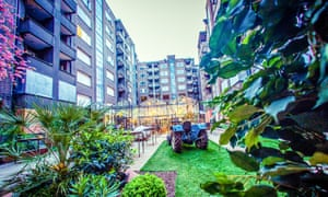 Courtyard area of Plein Publiek, Antwerp
