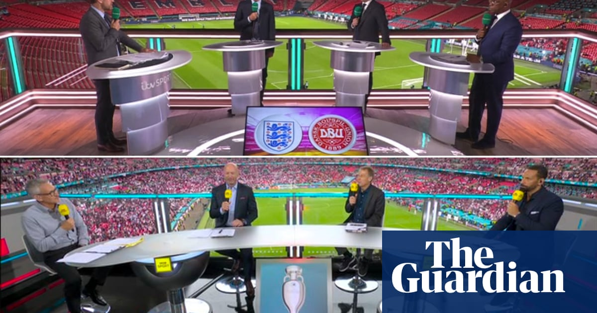 ITV's England 'curse' lifted but BBC will dominate Euro 2020 final