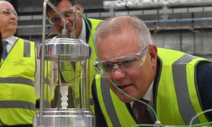 Earlier this year, prime minister Scott Morrison visited Star Scientific, a hydrogen research facility in Berkeley Vale with energy minister Angus Taylor