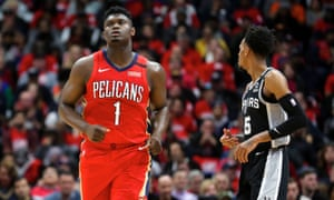Zion Williamson Delivers In Nba Debut With 17 Point Fourth