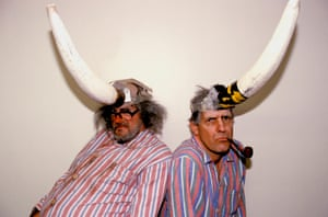 Jimmy Cauty and Bill Drummond, the 'wonderfully chaotic' KLF.