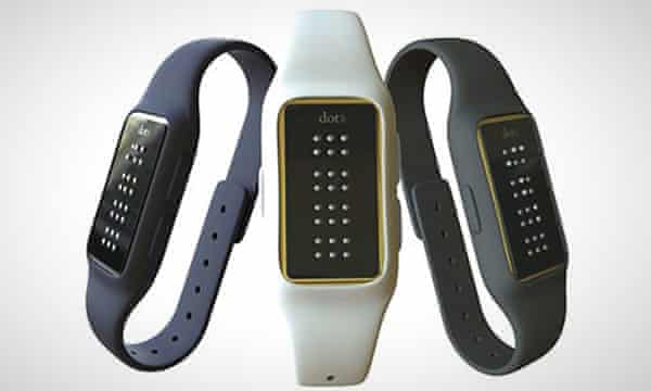 Dot Watch, the first braille smartwatch