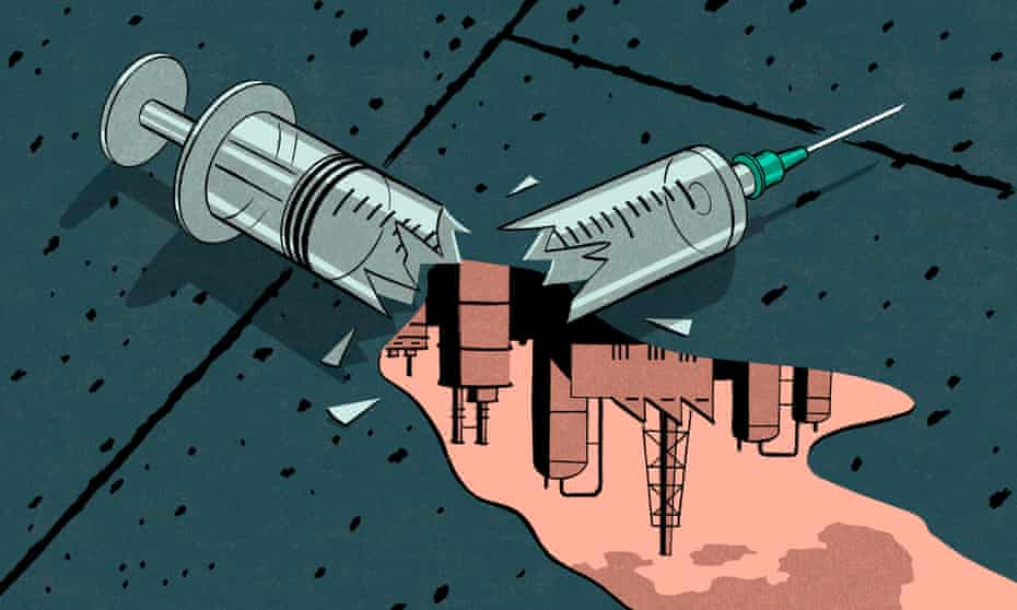 Illustration of needle