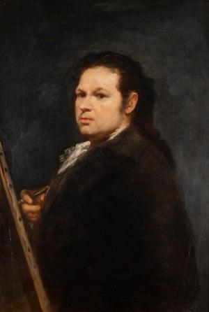 Francisco de Goya, self portrait, 1783.
