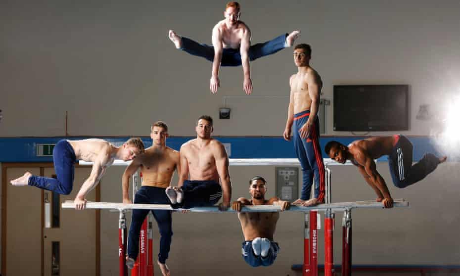 British Men's Gymnastics team