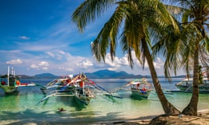 Palawan in the Philippines is also under threat due to tourism.