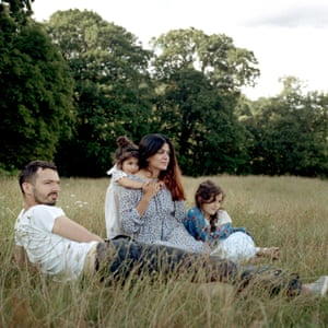 Joe, Madhis, Evie & Minou, Kenwood Park NW3 by photographer Sophia Spring from the book Park Life.