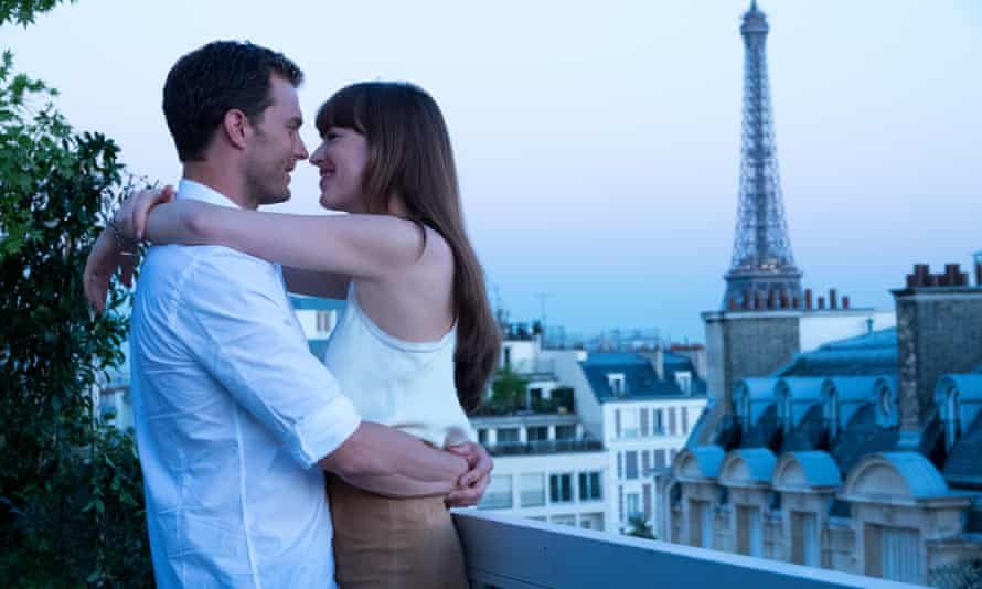 Jamie Dornan and Dakota Johnson in Fifty Shades Freed