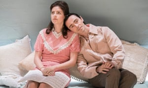 Aisling Loftus and David Dawson in the ironically titled Aristocrats.