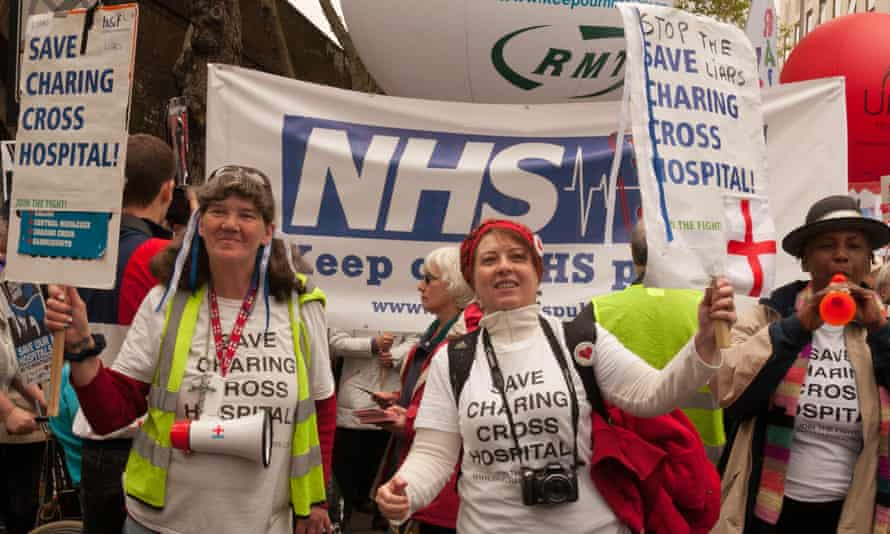 The closure of Charing Cross hospital came under fire after plans to sell off 87% of the property were revealed by the Guardian.