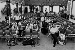 The Mike Westbrook Orchestra in Catania, 1992.