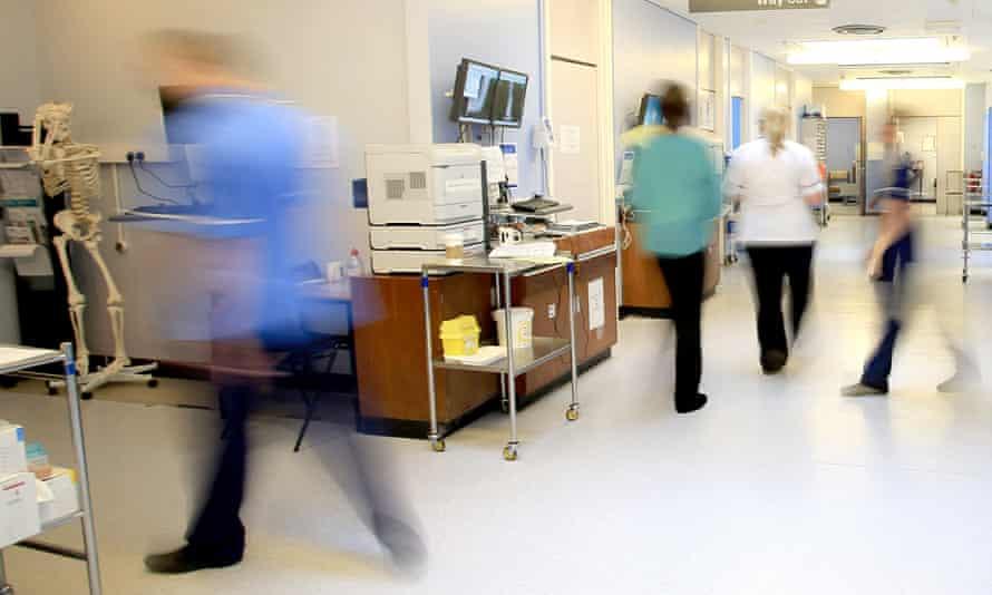 NHS ward general view