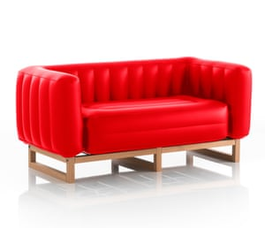Inflatable Sofa by Mojow, £596, limelace.co.uk