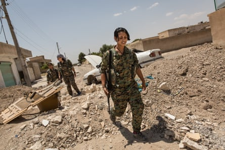 In Raqqa, the women of the YPJ have vanquished the rapists of Isis.