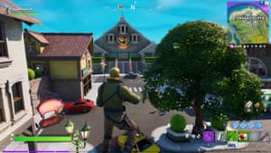 Gameplay from Fortnite Chapter 2.
