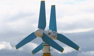 A tidal power turbine