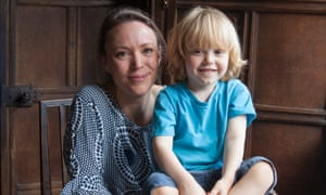 Hannah Critchlow and son
