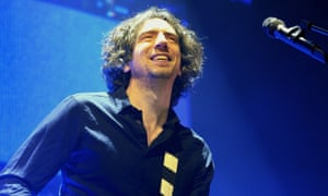 'It's bonkers!' … Gary Lightbody of Snow Patrol at the O2 Arena, London.