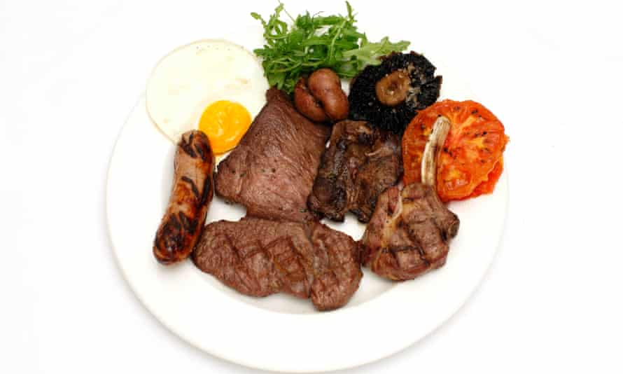 'The sort of thing tourist buses should stop in front of': mixed grill.