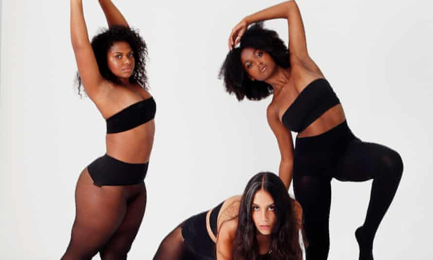 Heist tights cast diverse models for its advertising campaign.