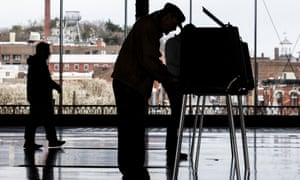 Voters cast their ballots in Richmond, Virginia