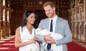 The couple's decision to hold a private christening for their son Archie was criticised by the tabloids.