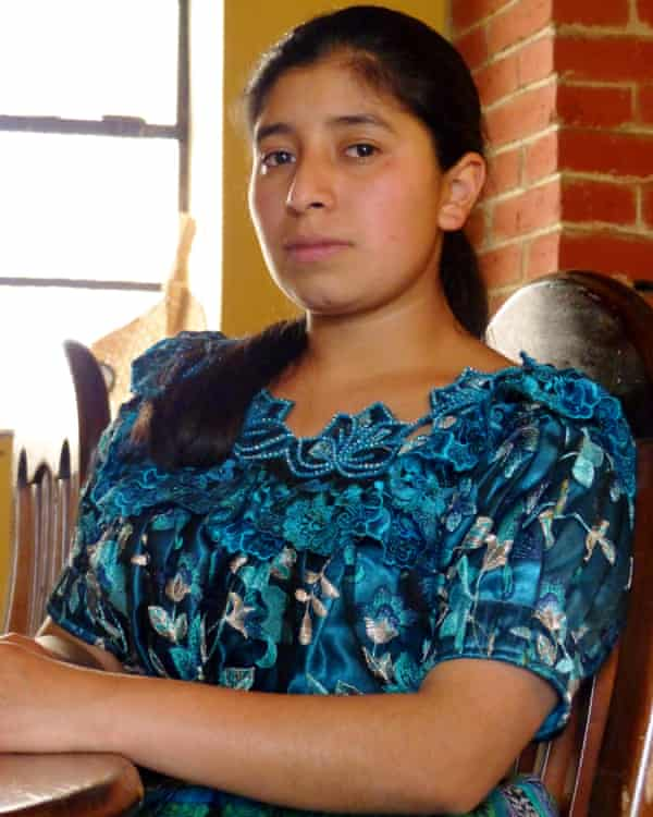 Jesica Tixal Chicovix: 'I don't want my story to be repeated.'