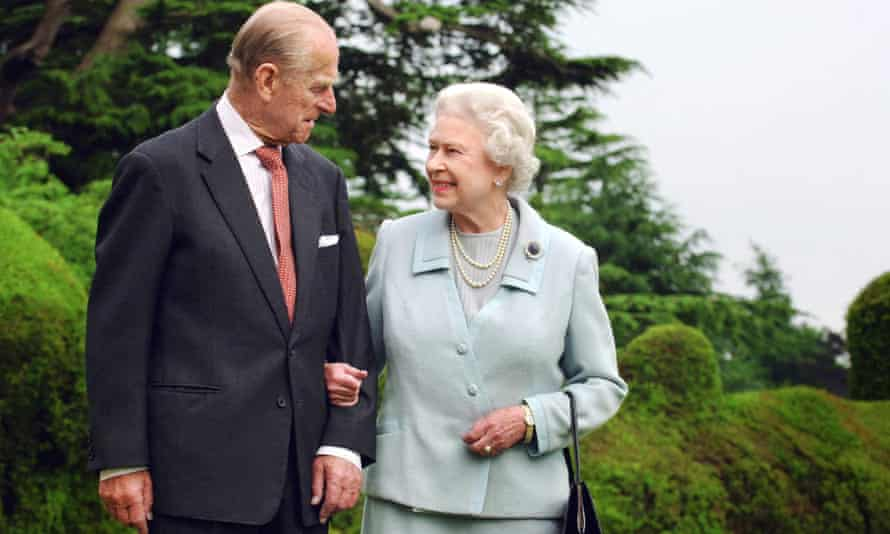 The Queen and Prince Philip mark their diamond wedding anniversary in Hampshire in 2007.