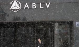 An ABLV bank in Riga, Latvia.