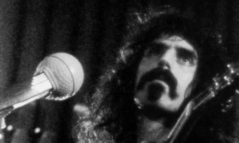Frank Zappa. 'Towards the end of his life, he realized that people were beginning to get the substance of who he was as an artist.'