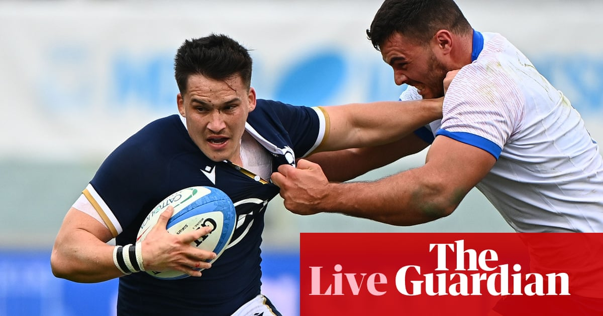 Italy v Scotland: Autumn Nations Cup – live!