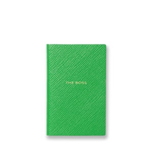 Notebook, £35 smythson.com