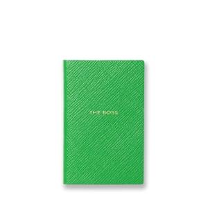 Notebook, £35 smythson.com