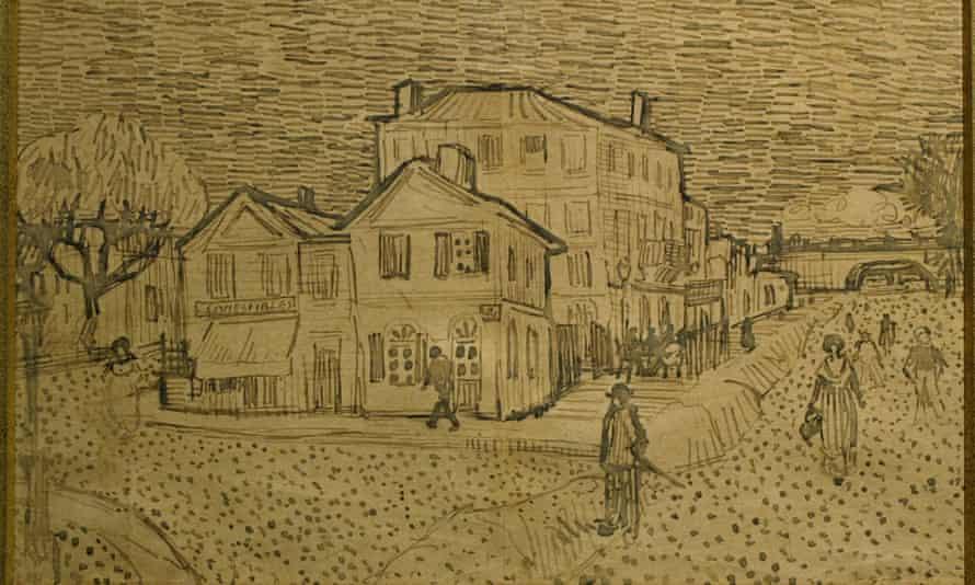 La Maison de Vincent a Arles, by Vincent Van Gogh.