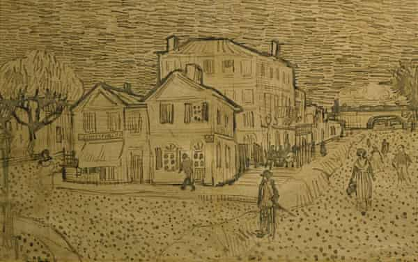 This drawing by Vincent Van Gogh, worth $5.5m, was allegedly bought with money from 1MDB, according to the US authorities.