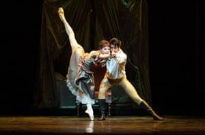 Natalia Osipova as Mary Vetsera and Ryoichi Hirano as Rudolf in Mayerling at the Royal Opera House.