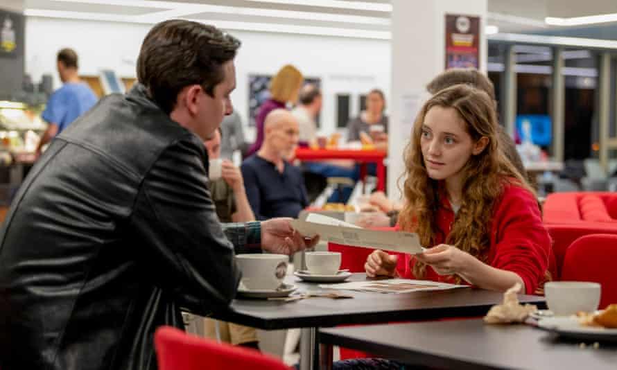 James Harkness as social worker James and Mirren Mack as Kaya.