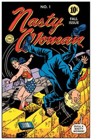 HG Peter cover for Wonder Woman #2, DC Comics, Fall 1942