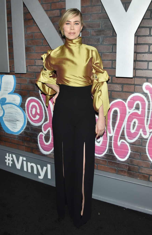 Birgitte Hjort Sorensen at the 'Vinyl' TV series premiere, New York