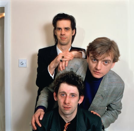 Nick Cave, Smith and Shane MacGowan