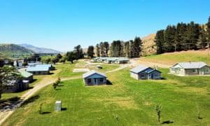 Waitaki village, Canterbury, New Zealand