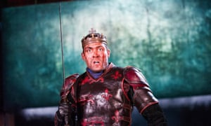 Alex Hassell in Henry V.
