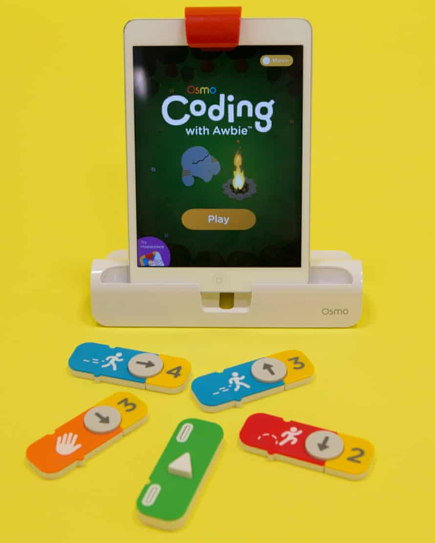 The Osmo coding kit.