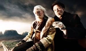 Christopher Plummer and Tom Waits in The Imaginarium Of Doctor Parnassus, 2009