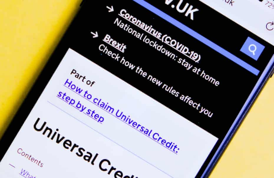 The £20-a-week universal credit increase is due to be withdrawn in autumn