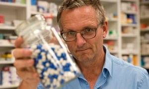 Pills, pills, pills … Michael Mosley lifts the lid on the UK's painkiller problem.