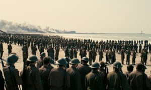Screengrabs from the trailer for the film Dunkirk