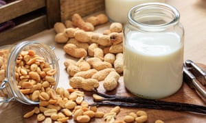 Alternative milk from peanuts