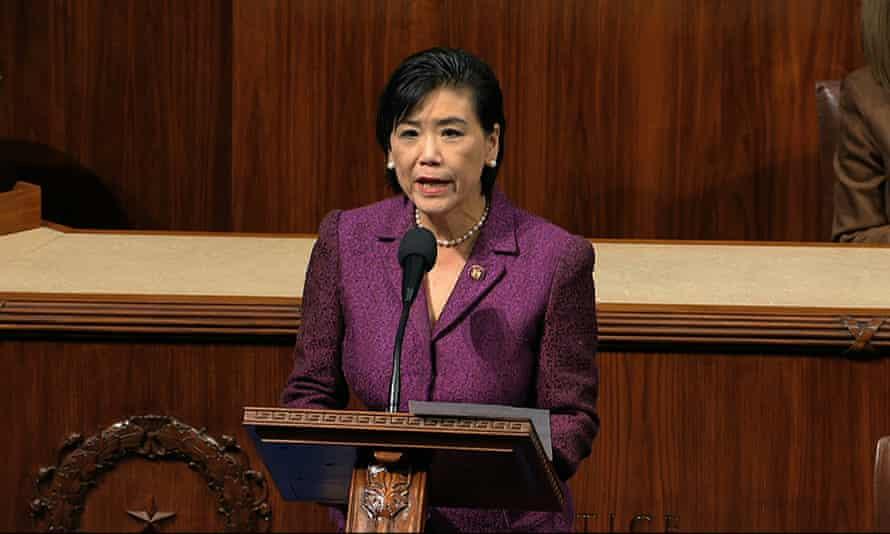 جودی چو ، رئیس مجمع انتخاباتی کنگره آسیا و اقیانوسیه کنگره.